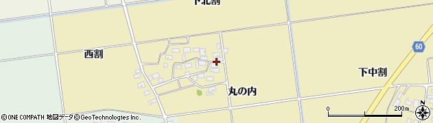 山形県酒田市上野曽根下北割90周辺の地図