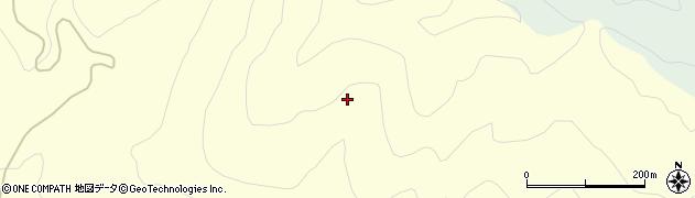 山形県酒田市北俣木之芽坂周辺の地図
