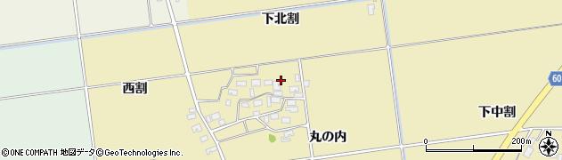 山形県酒田市上野曽根下北割100周辺の地図