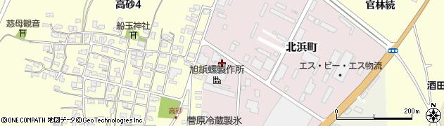 山形県酒田市北浜町2-60周辺の地図