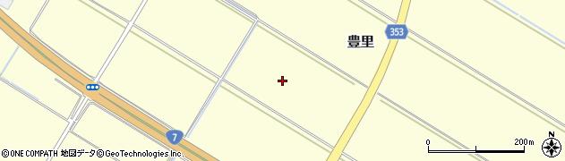 山形県酒田市豊里(小沼)周辺の地図