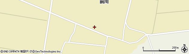 山形県酒田市前川鶴田61周辺の地図