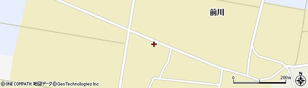 山形県酒田市前川前田36周辺の地図