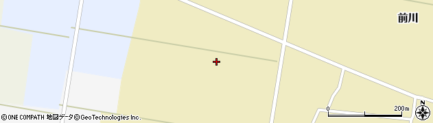 山形県酒田市前川二百刈周辺の地図
