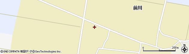 山形県酒田市前川前田38周辺の地図