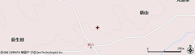 岩手県一関市千厩町磐清水(新山)周辺の地図