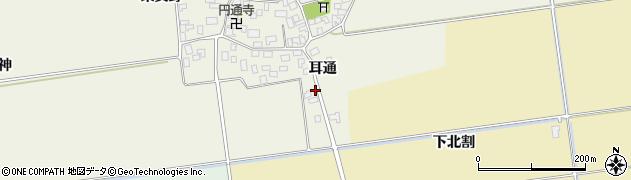 山形県酒田市吉田才ノ神21周辺の地図