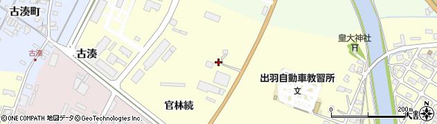 山形県酒田市高砂官林続6周辺の地図