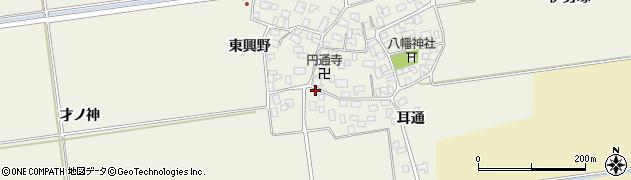 山形県酒田市吉田才ノ神31周辺の地図