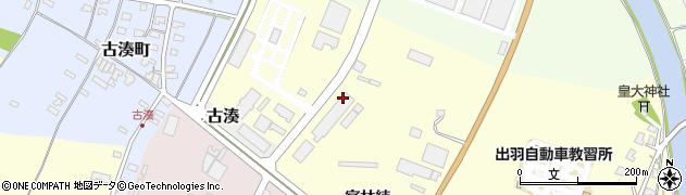 山形県酒田市高砂(官林続)周辺の地図