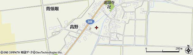 山形県酒田市安田大平299周辺の地図