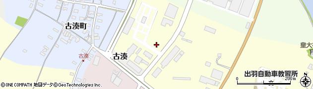 山形県酒田市高砂官林続周辺の地図