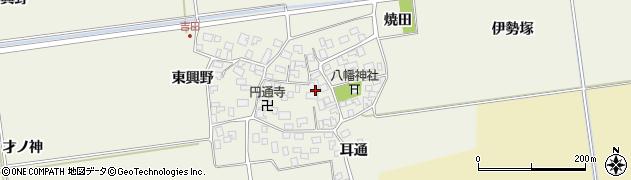 山形県酒田市吉田伊勢塚85周辺の地図