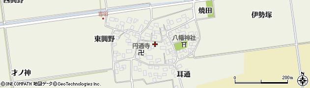 山形県酒田市吉田伊勢塚106周辺の地図