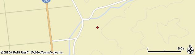 山形県酒田市北平沢盛沢57周辺の地図