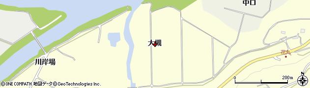 岩手県一関市狐禅寺大槻周辺の地図