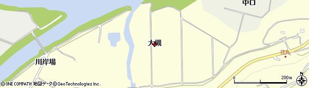 岩手県一関市狐禅寺(大槻)周辺の地図