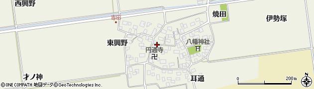 山形県酒田市吉田伊勢塚104周辺の地図