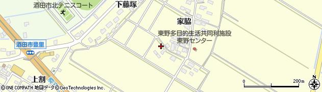 山形県酒田市豊里家脇70周辺の地図