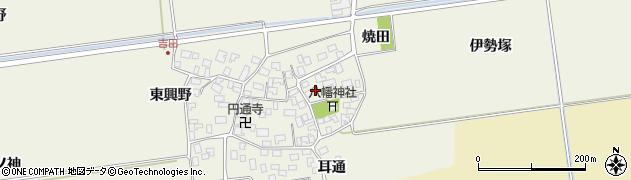 山形県酒田市吉田伊勢塚45周辺の地図