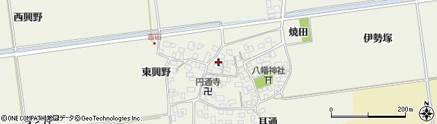 山形県酒田市吉田伊勢塚113周辺の地図