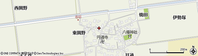 山形県酒田市吉田伊勢塚118周辺の地図
