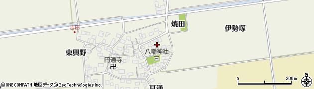 山形県酒田市吉田伊勢塚65周辺の地図