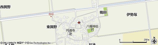 山形県酒田市吉田伊勢塚109周辺の地図