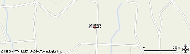 岩手県一関市室根町折壁若菜沢周辺の地図