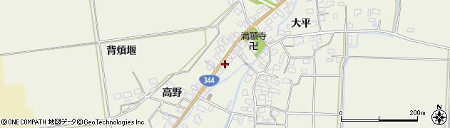 山形県酒田市安田大平155周辺の地図