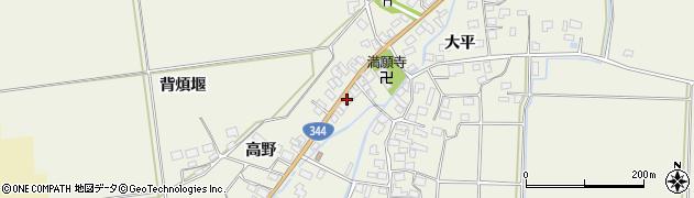 山形県酒田市安田大平141周辺の地図