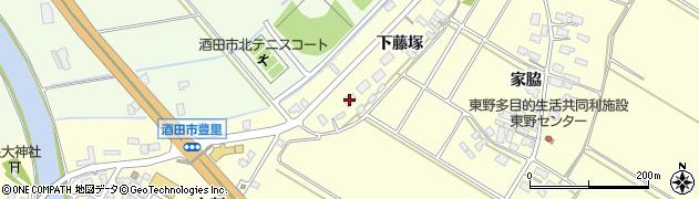 山形県酒田市豊里下藤塚97周辺の地図