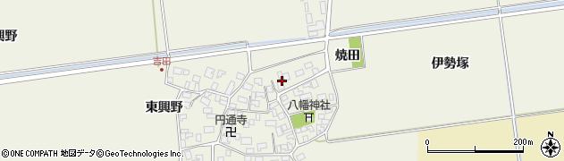 山形県酒田市吉田伊勢塚13周辺の地図