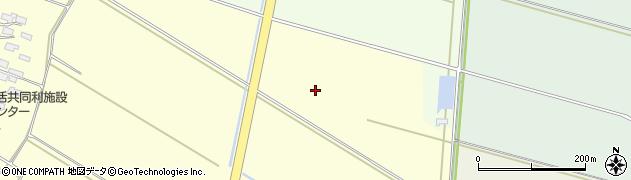 山形県酒田市豊里東割沼田周辺の地図