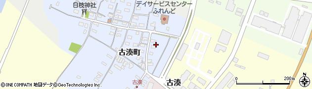 山形県酒田市古湊町8周辺の地図