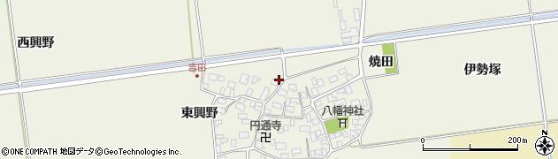 山形県酒田市吉田伊勢塚115周辺の地図
