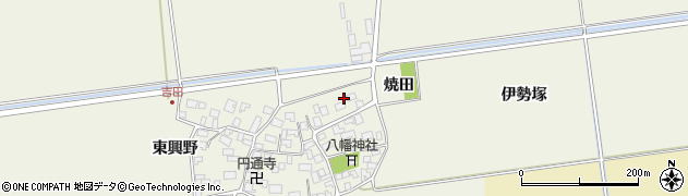 山形県酒田市吉田伊勢塚7周辺の地図