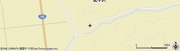 山形県酒田市北平沢大沢68周辺の地図