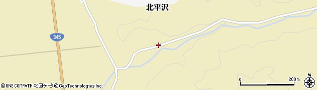 山形県酒田市北平沢大沢61周辺の地図