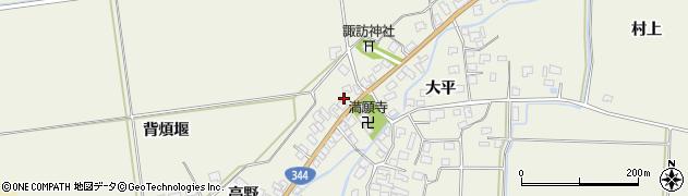 山形県酒田市安田高野2周辺の地図