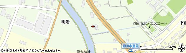 山形県酒田市宮海明治53周辺の地図
