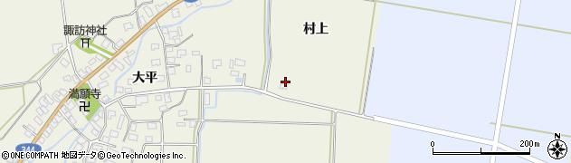 山形県酒田市安田村上1周辺の地図