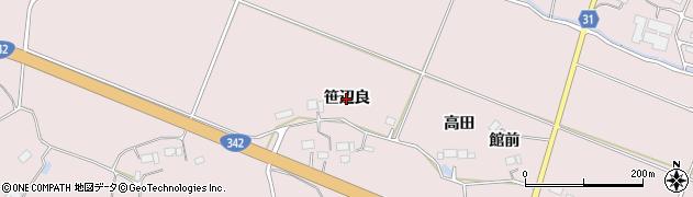 岩手県一関市厳美町(笹辺良)周辺の地図