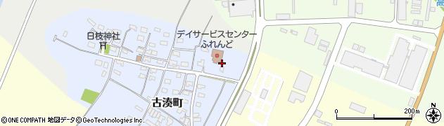 山形県酒田市古湊町9周辺の地図