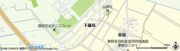 山形県酒田市豊里下藤塚90周辺の地図