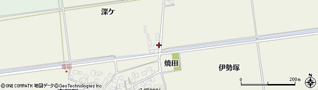 山形県酒田市吉田稲荷1周辺の地図
