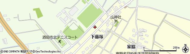 山形県酒田市豊里下藤塚214周辺の地図