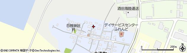 山形県酒田市古湊町11周辺の地図