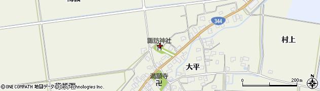 山形県酒田市安田大平200周辺の地図