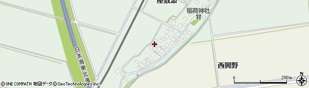 山形県酒田市保岡屋敷添14周辺の地図